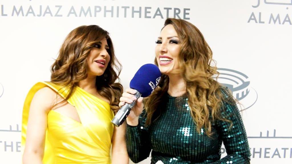 سلام حمود و شمس الأغنية اللبنانية نجوى كرم