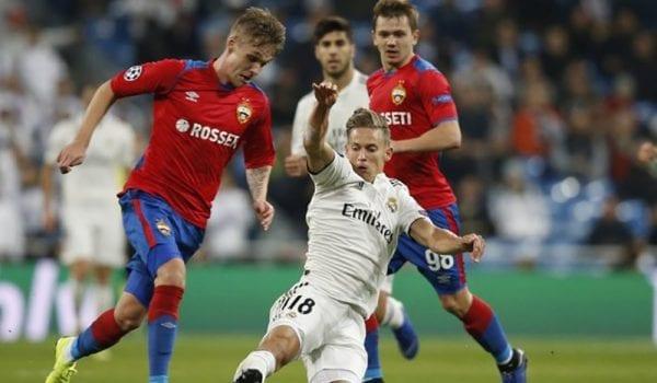 سسكا موسكو يسحق ريال مدريد بثلاثية نظيفة