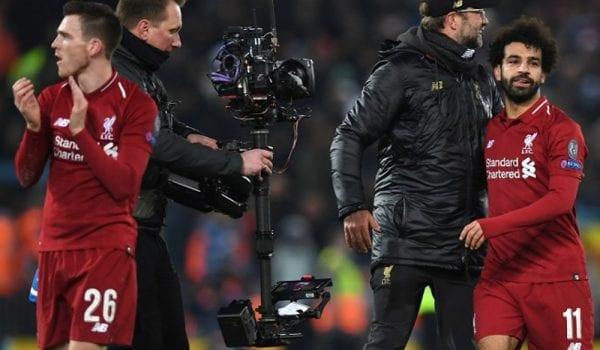 صلاح ينقذ ليفربول في دوري أبطال أوروبا