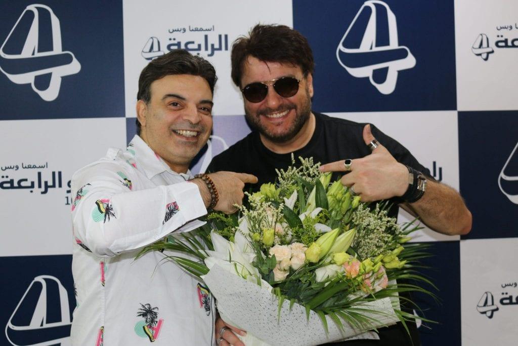 النجم علاء زلزلي في ضيافة راديو الرابعة