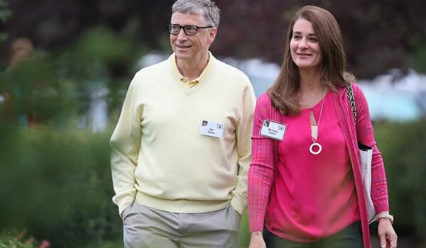 انفصال بيل جيتس ومليندا بعد زواج دام 27 عاماً