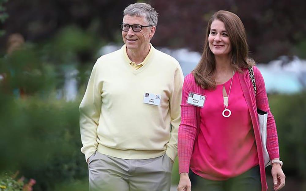 بيل-غيتس-وزوجته