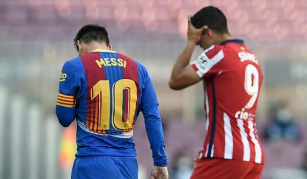 تعادل سلبي بين برشلونة وأتلتيكو مدريد في الليغا الاسبانية