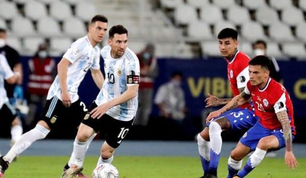 تشيلي تفرض التعادل على الأرجنتين في كوبا أمريكا