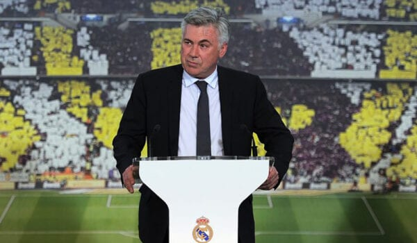 رسمياً.. كارلو أنشيلوتي مدرباً لريال مدريد حتى 2024