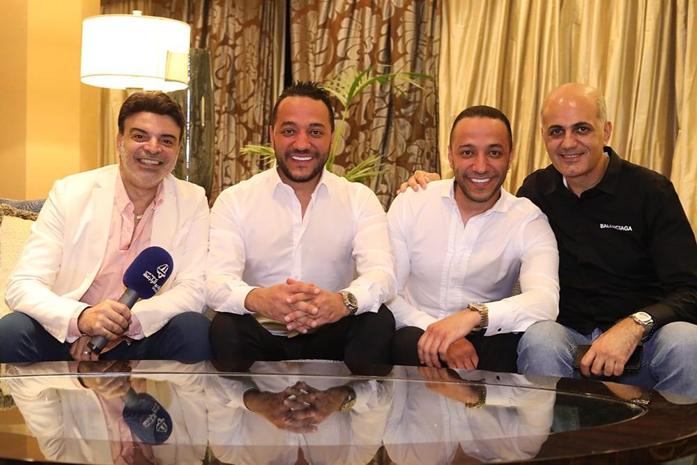 جلسة خاصة مع  حسين وحسن الديك