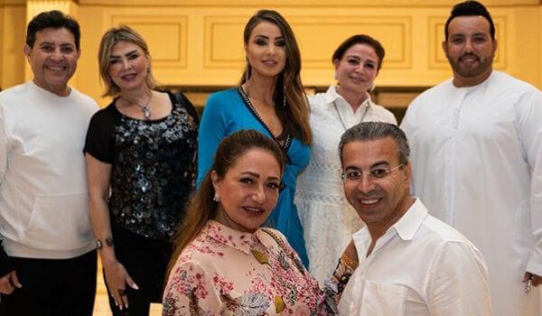 فندق المشاهير في دبي يستضيف هاني شاكر وليلى علوي وإلهام شاهين