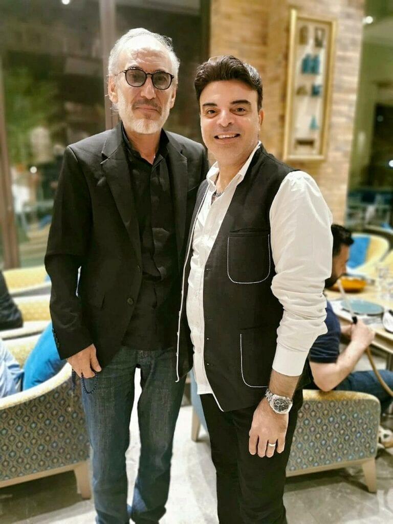 عمر مع النجم العالمي غسان مسعود