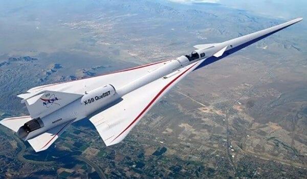 تطوير طائرة دون ضجيج تفوق سرعتها سرعة الصوت