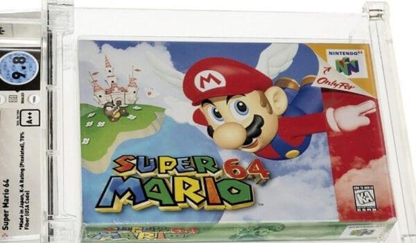 """بيع نسخة نادرة من لعبة """"سوبر ماريو"""" بأكثر من 1.5 مليون دولار"""
