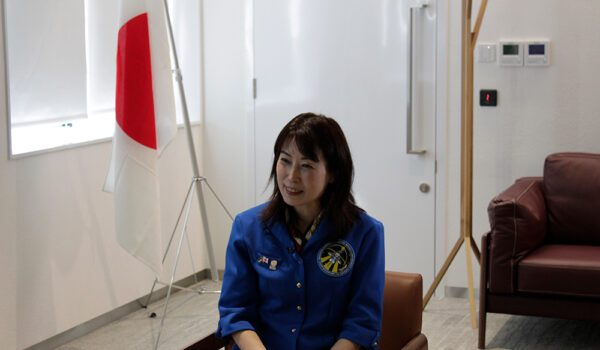 رائدة الفضاء اليابانية يامازاكي ناوكو تشارك في فعاليات أسبوع الفضاء بمعرض إكسبو 2020 دبي