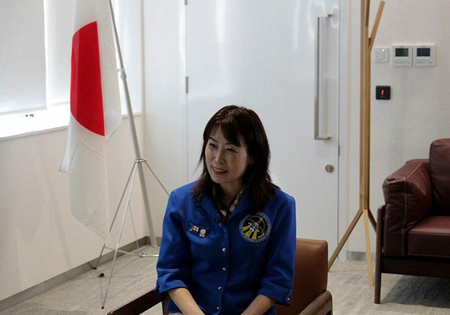 رائدة-فضاء-يابانية